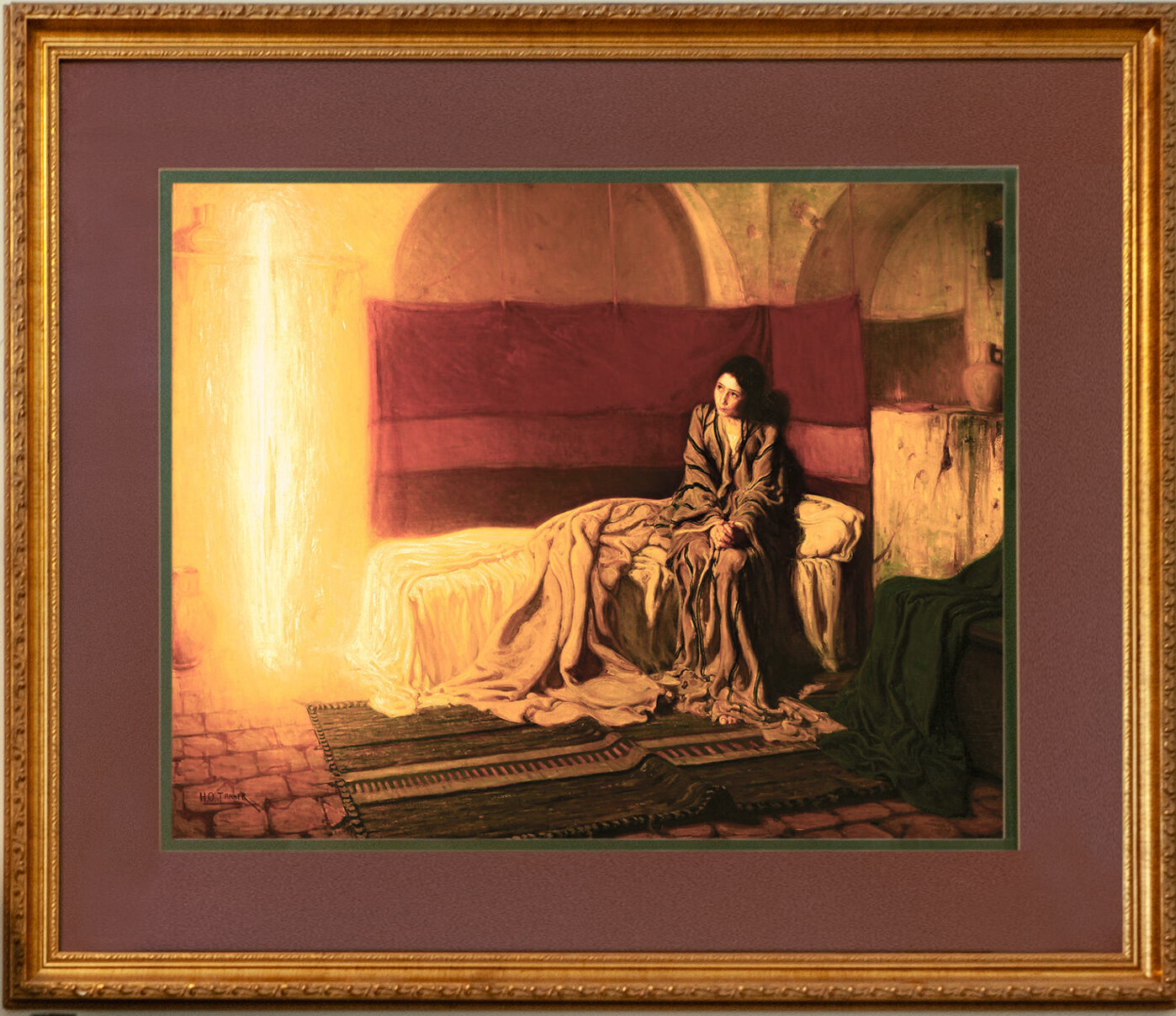 20-Annunciation by Tanner-38x32