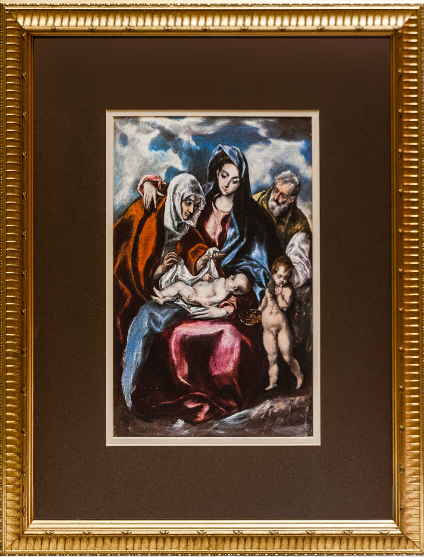 23 our Virgin and Child by El Greco 16 x 20.25