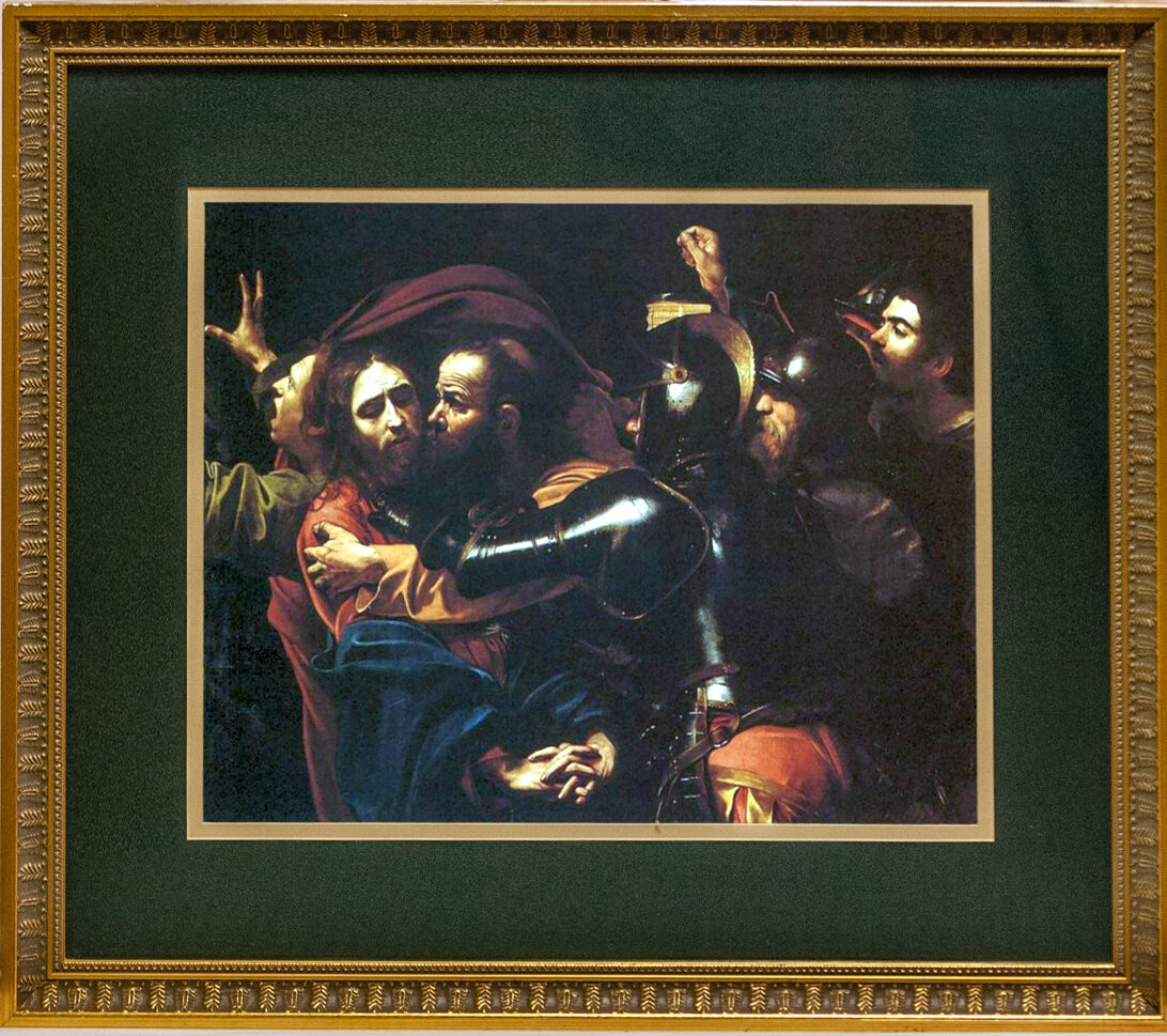 37 The Taking of Christ by Carvaggio 30x26