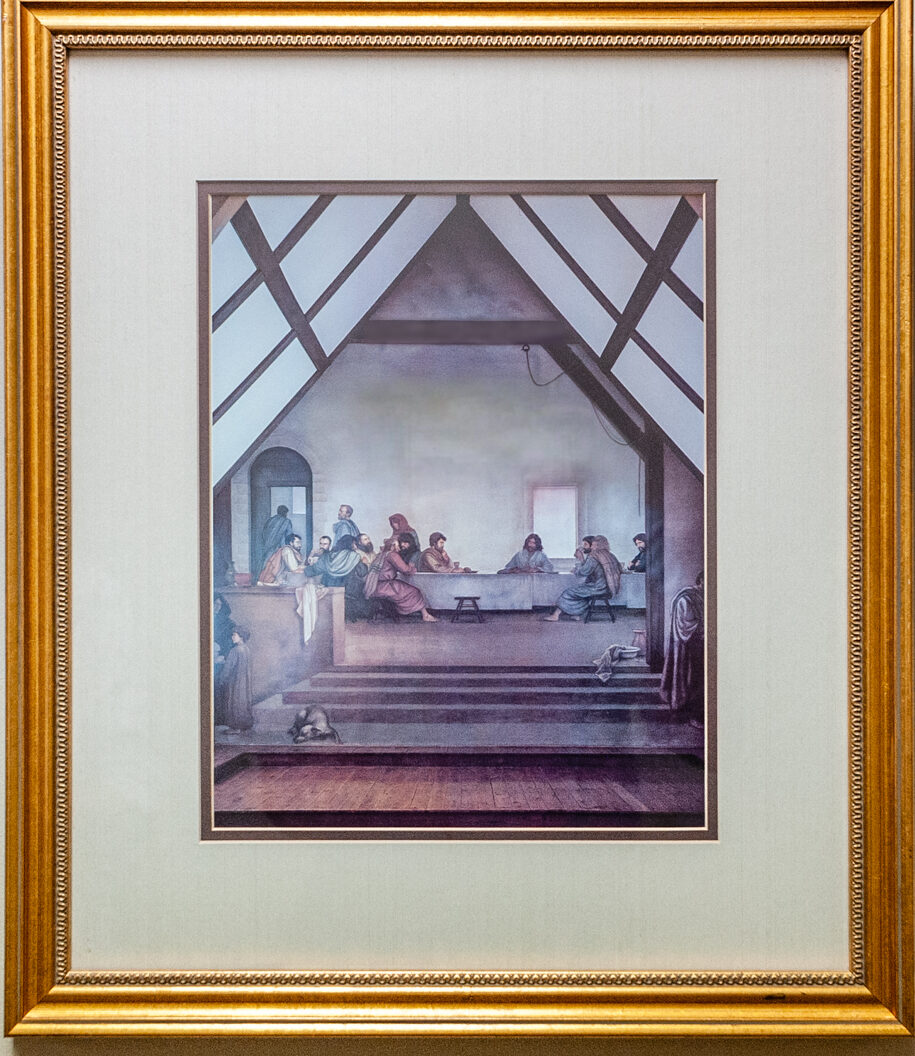 53 the Last Supper by Ben Long 18x21