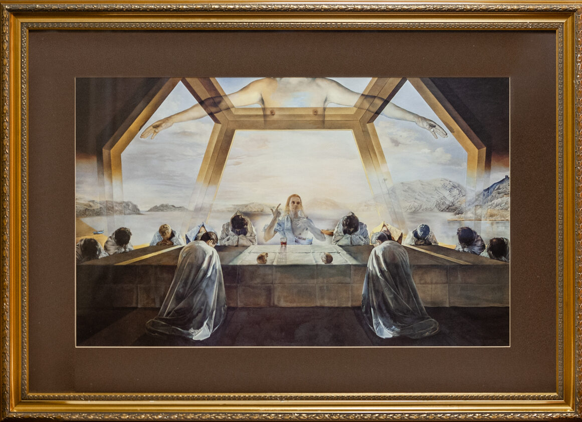 72 The Lord's Supper by Salvadore Dali 44 x 32