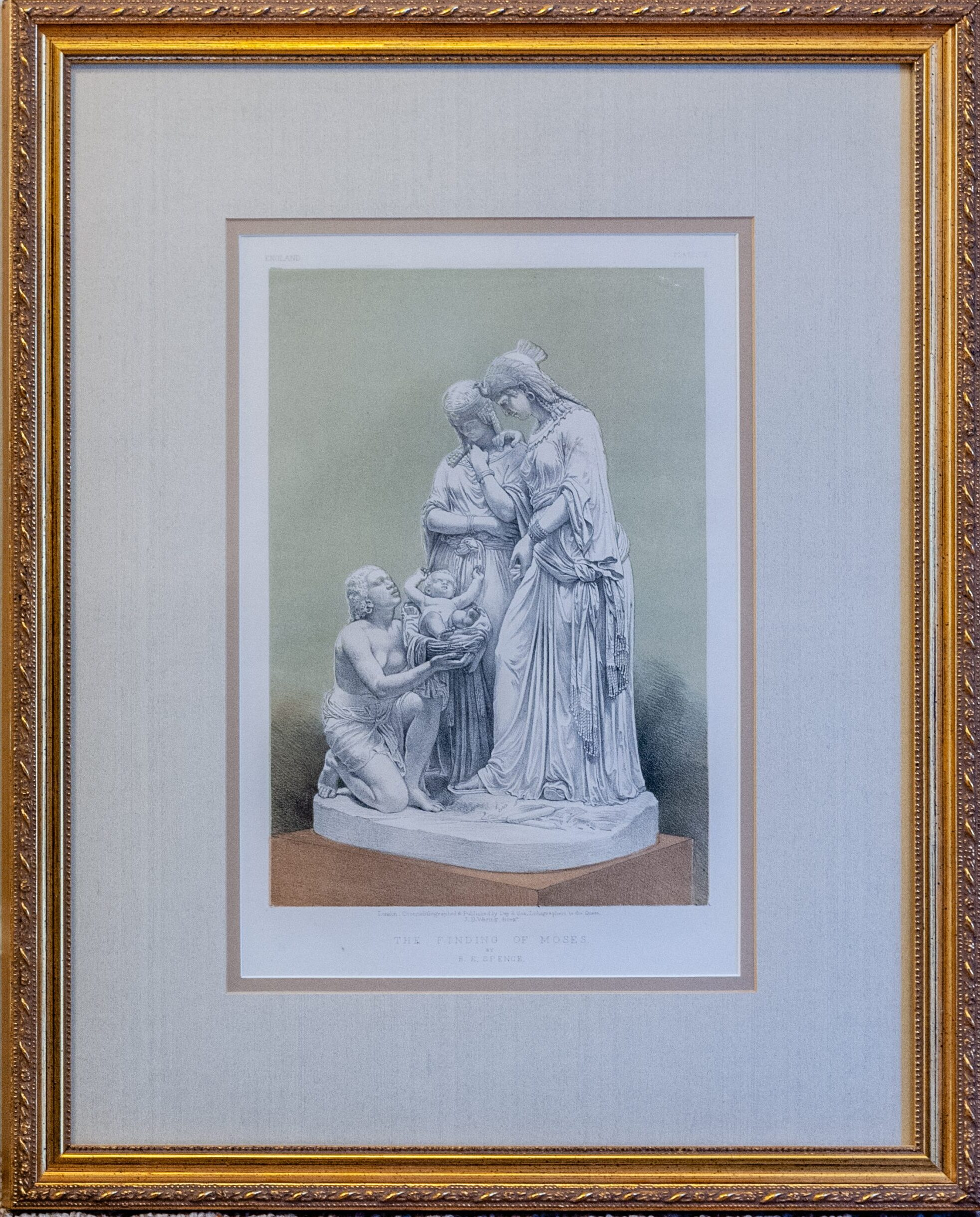 Finding Moses by Benjamin E. Spence 16x20