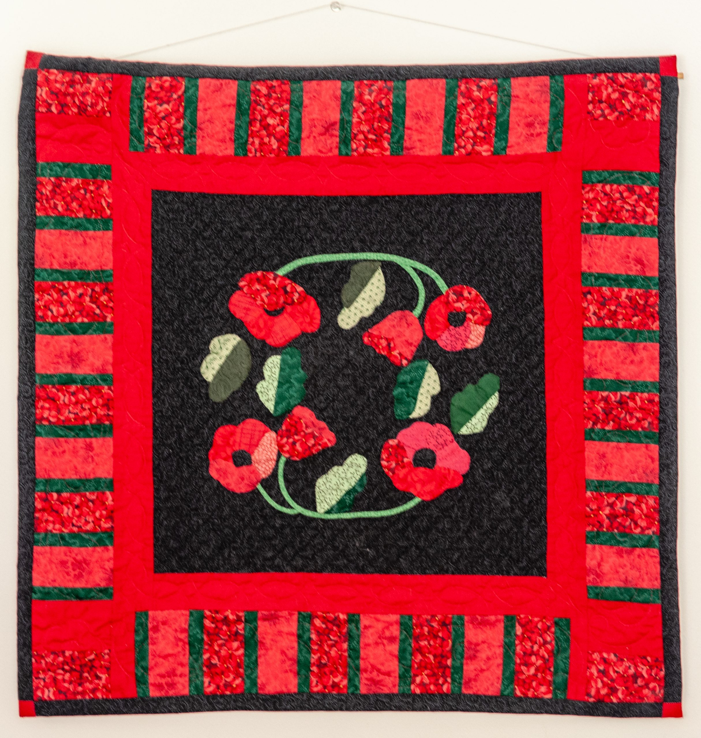 Quilt Red 25x25
