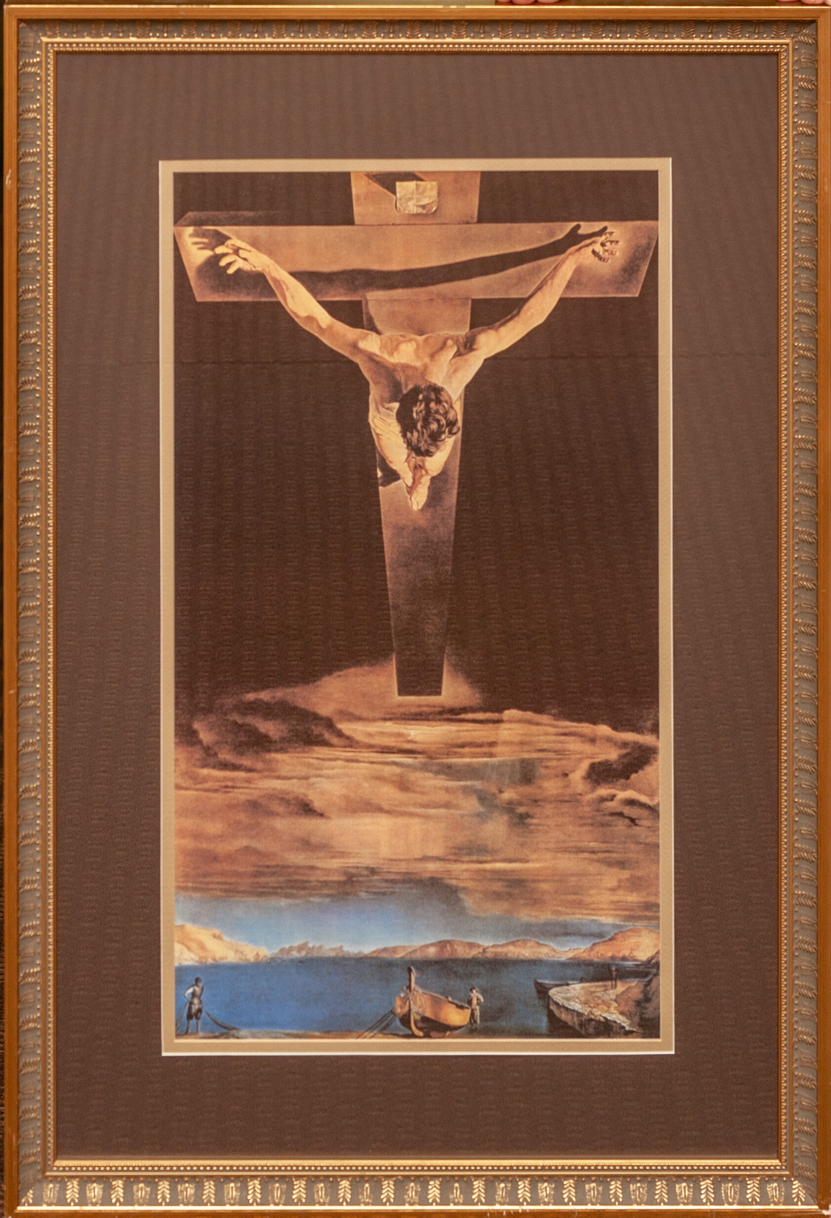 the Crucifixion by Salvador Dalí 30x48
